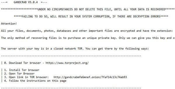 Mã độc mã hóa tống tiền mới GandCrab đang tấn công diện rộng người dùng Internet Việt Nam - Ảnh 2.