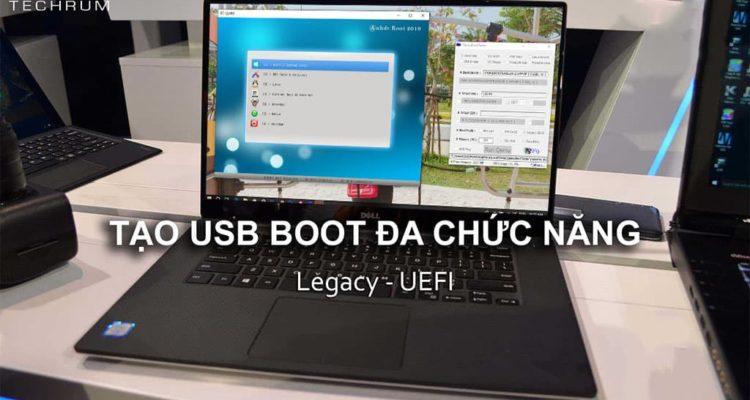 Mời tải và sử dụng Anh DV Boot 2020 – Boot cứu hộ máy tính cực tốt hiện nay